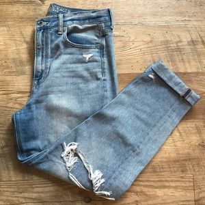 AE mom jeans (size 8)